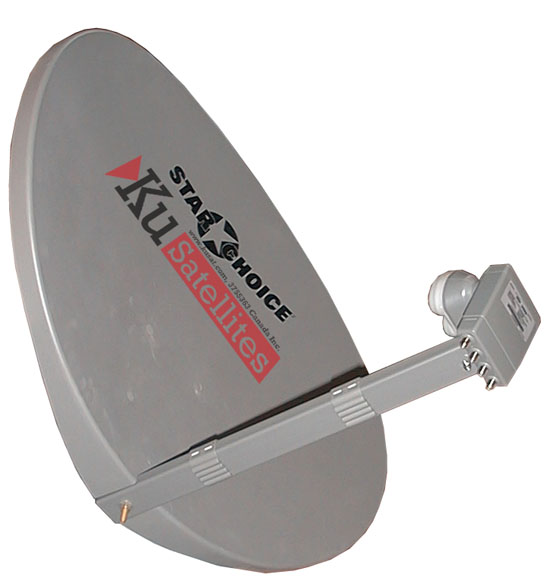 Shaw Direct 75cm Elliptical Dish - Assembled