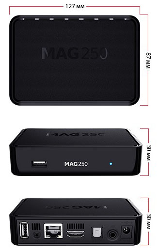 Mag 250 Specifications