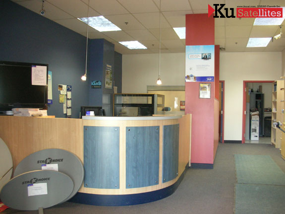 Ku Satellites Reception Area