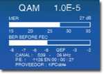 Promax Prolink 4C Digital QAM Measures