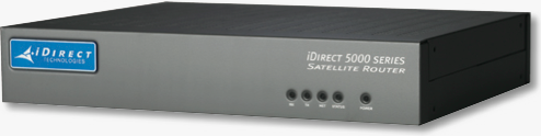 iDIrect 5100 Satellite Router, front panel